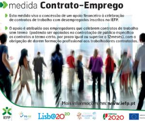 IEFP medida contrato emprego